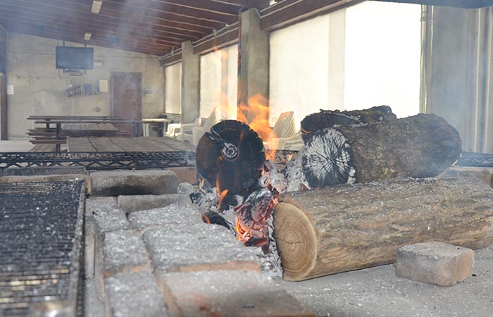 Barbecue Amarant